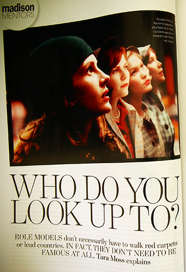 Who do you look up to?
