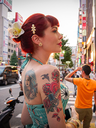 Visiting Japan With Tattoos Tara Moss
